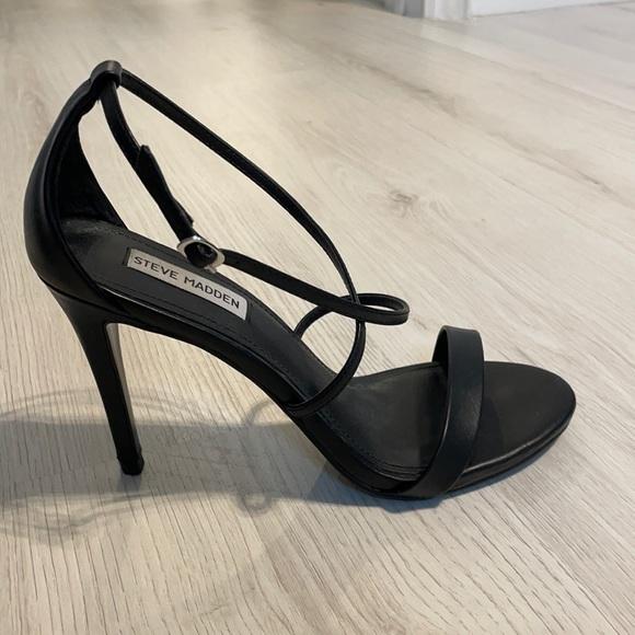 Strappy heels sandals